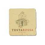 Testarossa Winery Marble Coaster